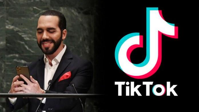 Nayib Bukele figura como uno de los mejores líderes mundiales en Tik Tok, según el ranking de un experto en social media global