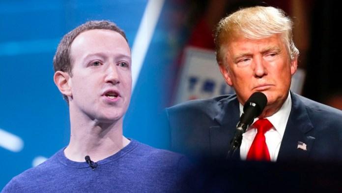 Mark Zuckerberg, el dueño de Instagram y Facebook, censura a Trump hasta el día del traspaso de mando, debido al asalto al Capitolio