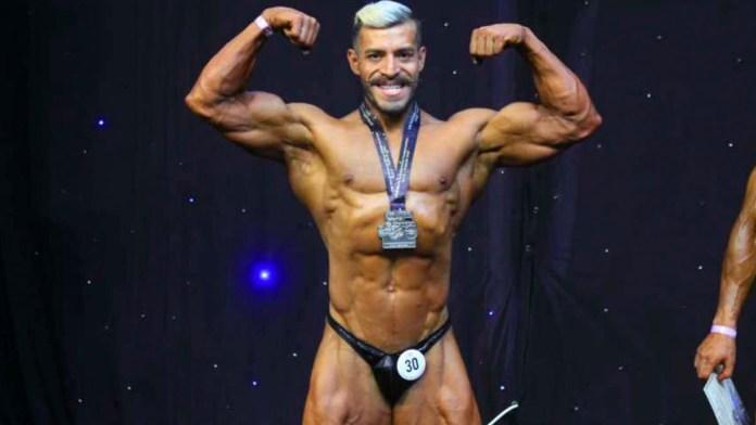 El salvadoreño Yuri Rodríguez está en el número dos del mundo en el último rankeo de la categoría men's classic physique