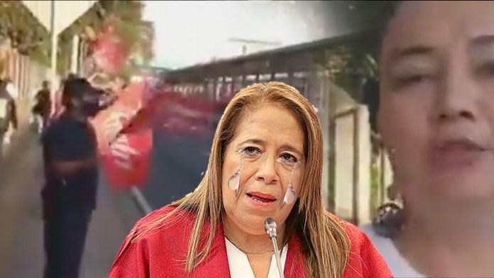 Los del FMLN son abucheados en la calle en plena campaña durante una transmisión en vivo donde les pasaban pitando