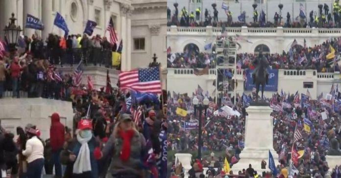 Tensión en el Capitolio de EE.UU.: Suspenden certificación de resultados en el Congreso ante llegada de manifestantes