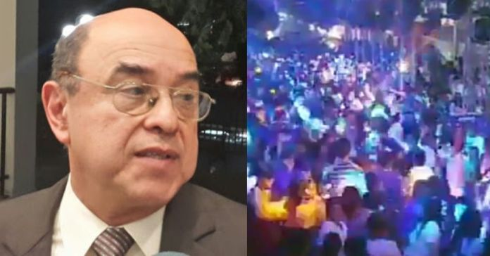 Revelan que presidente de la CSJ realiza fiestas nocturnas clandestinas sobrepasando horas límites establecidas en la municipalidad