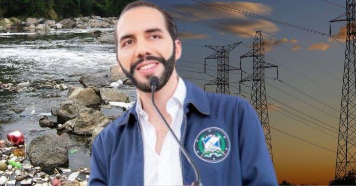 Gobierno de Bukele generará electricidad a través del tratamiento de aguas residuales del Río Acelhuate