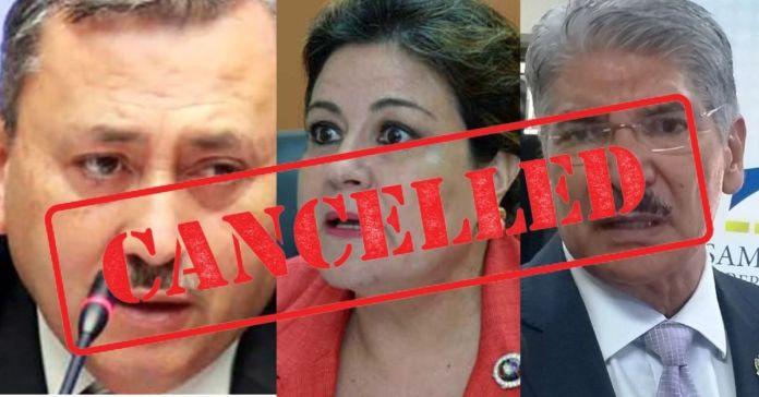 Salvadoreños ordenan a la Sala que así como cancelaron candidatura de Araujo, proh¡ban la de Margarita, Norman y Reyes por ser verdaderos corruptos