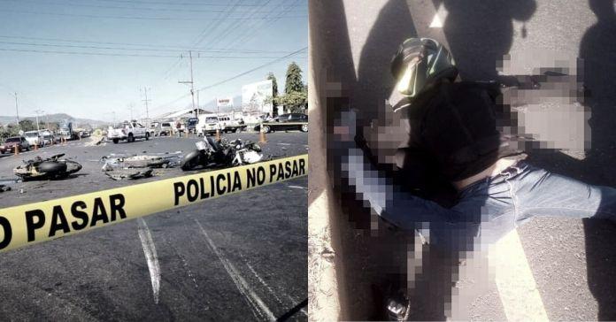 Fatal accidente de tránsito en Sonsonate deja dos motociclistas fallecidos