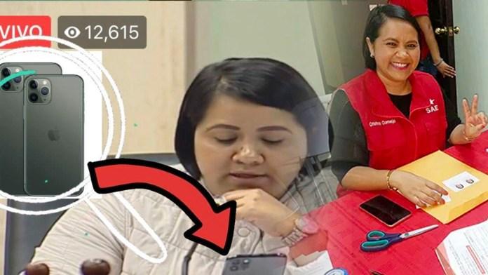 La socialista Cristina Cornejo usa Luis Vuitton y productos Apple la izquierdista le gusta disfrutar de las maravillas del capitalismo
