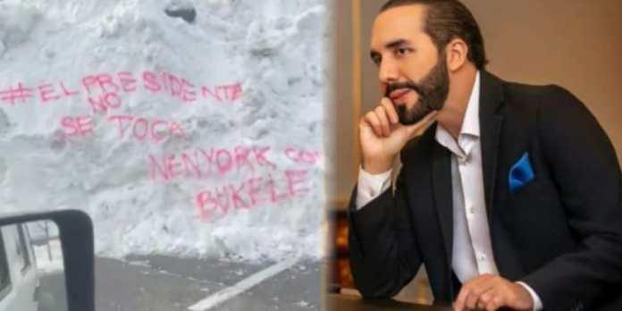 Salvadoreños en New York envían mensaje asegurando que #ElPresidenteNoSeToca