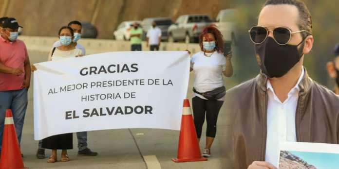 Salvadoreños agradecen a Nayib Bukele por entregar obra de primer nivel que mejorará el turismo y su economía