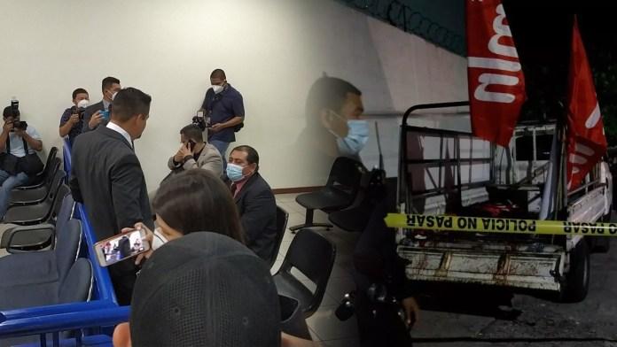 Comienza la audiencia inicial contra los agentes del PPI que participaron en el hecho de violencia que donde murieron dos militantes del FMLN