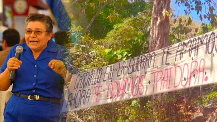 FMLN ODIA a María Chichilco, luego dicen que el discurso de odio es por parte del Gobierno; cuando ellos mismos lo fomentan