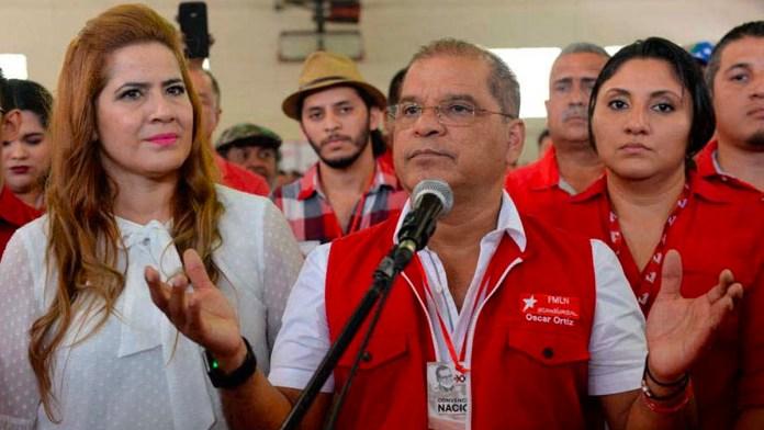 Oscar Ortíz condena el discurso de odio cuando el asegura que correrá sangre por ambos lados en uno de los últimos mitines que tuvo