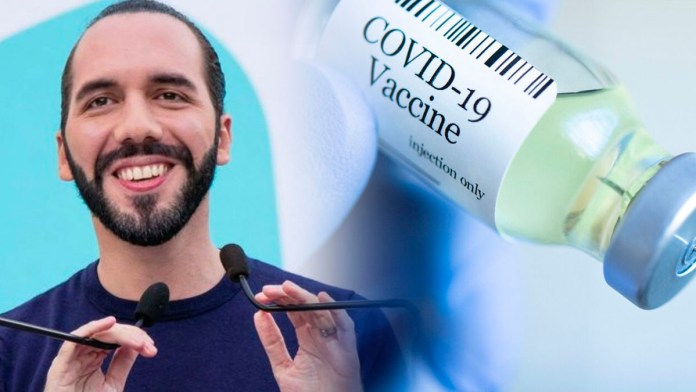 El gobierno del Salvador es seleccionado para recibir la vacuna de Pfizer debido a Su buen manejo de la pandemia