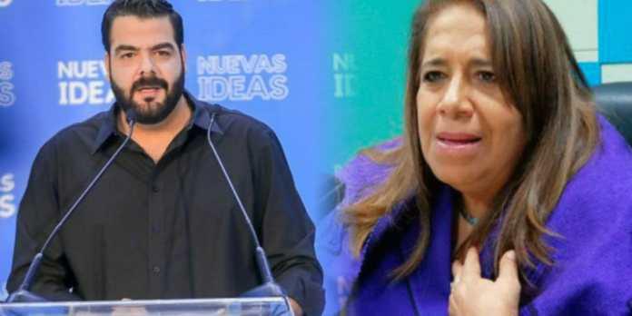 Nidia Díaz interpone demanda contra Nuevas Ideas porque dice que su propaganda que es falsa y dirigida hacia su persona
