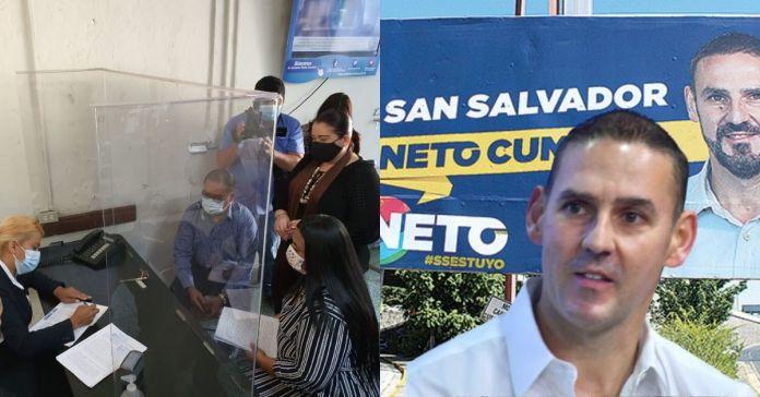Concejales de la alcaldía de San Salvador denuncian a Neto Muyshondt por utilizar fondos de los capitalinos para campaña electoral