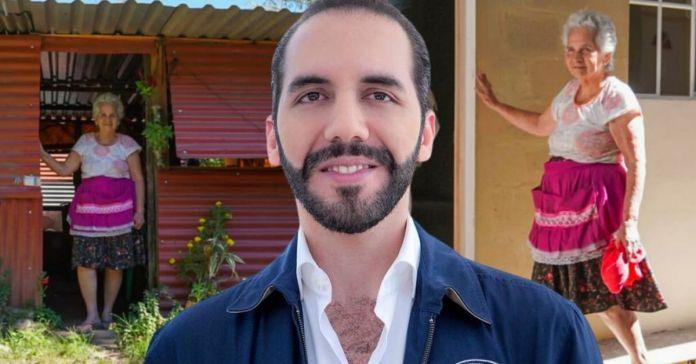 Gobierno de Bukele beneficia con nuevo hogar a Doña Amelia en Complejo El Espino