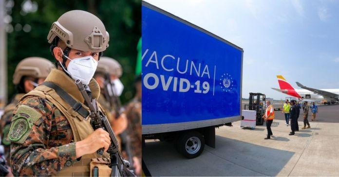 Equipo de la PNC y FAES protegerán movilización de las vacunas anti-COVID-19