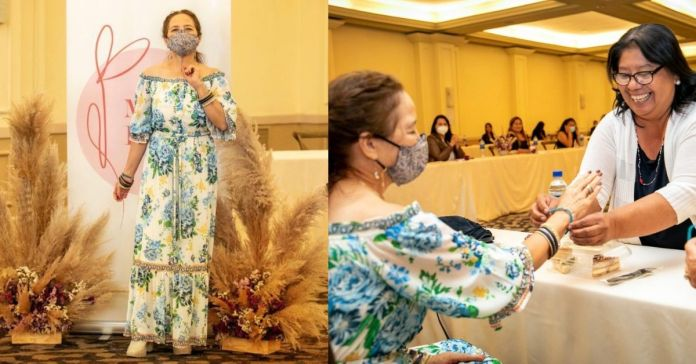 Madre del Presidente Bukele realizó jornada de capacitación para las candidatas a alcaldesas y diputadas de Nuevas Ideas