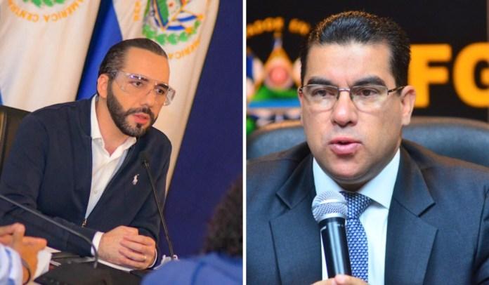Raúl Melara le dice al Presidente Bukele que «NO se meta» en investigaciones de la fiscalía