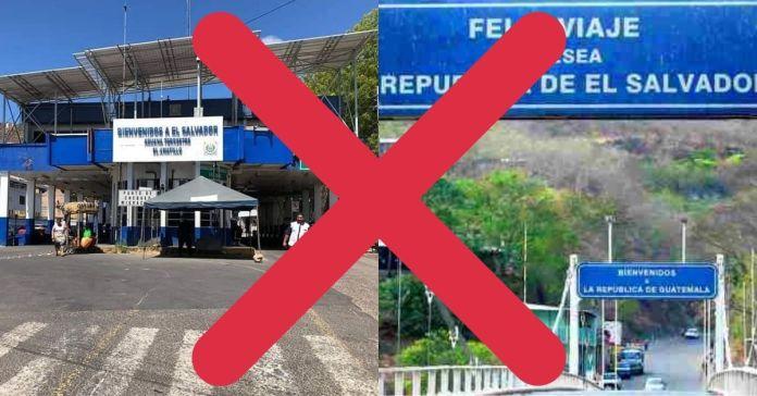 Piden cerrar fronteras de El Salvador ante destape de plazas fantasmas en la Asamblea Legislativa