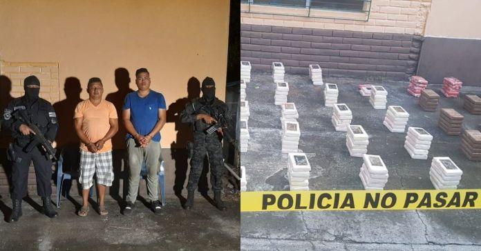 PNC incauta 200 kilos de cocaína en Intipucá, La Unión valorados en más de $5,000,000