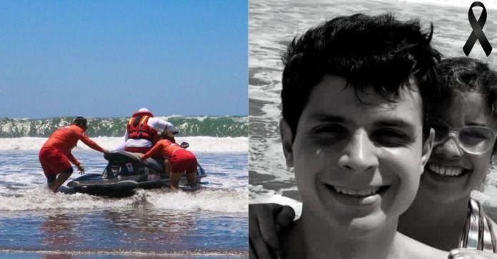 Autoridades confirman que se ha encontrado el cuerpo del atleta Luis Merino, en playa Cangrejera