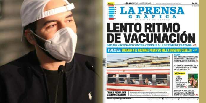 Presidente Bukele a LPG: «No insultan al Gobierno, sino a sus lectores. La Prensa Gráfica cree que sus lectores son estúpidos»