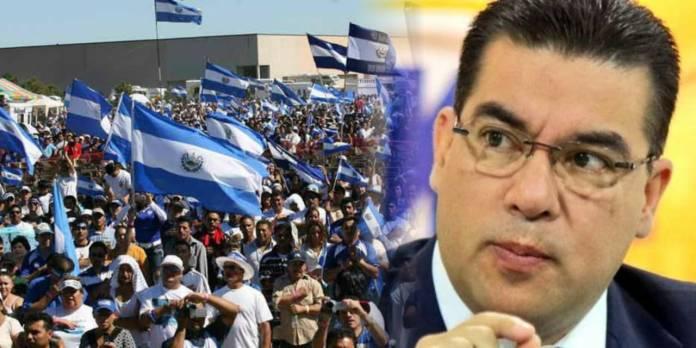 Salvadoreños exigen que el 1 de mayo Raúl Melara no funja como Fiscal General por encubridor de delitos de corrupción