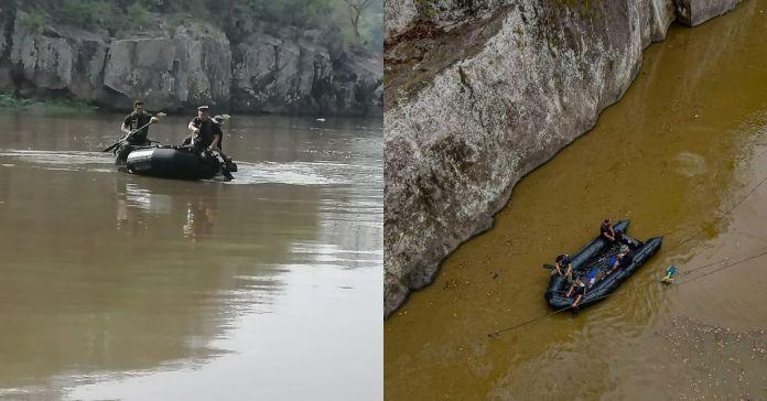 Autoridades localizan y recuperan el cuerpo del subsargento que perdió la vida mientras realizaba ejercicio militar