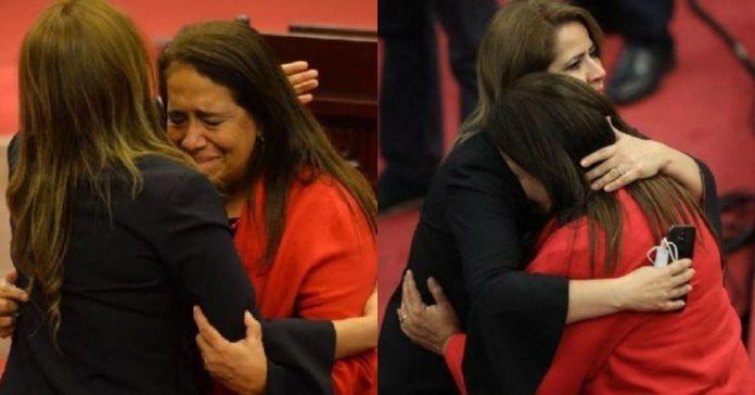 De esta manera, Nidia Díaz da último adiós a la Asamblea Legislativa