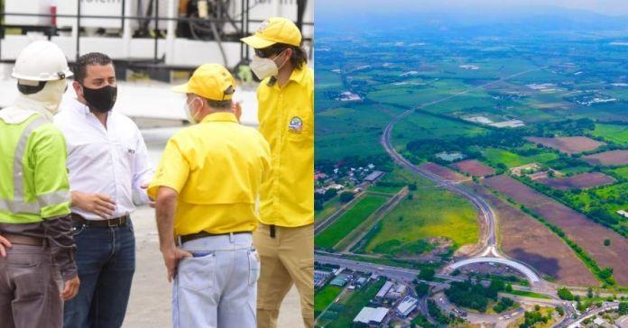 Obras Públicas acelera construcción del paso a desnivel en San Juan Opico