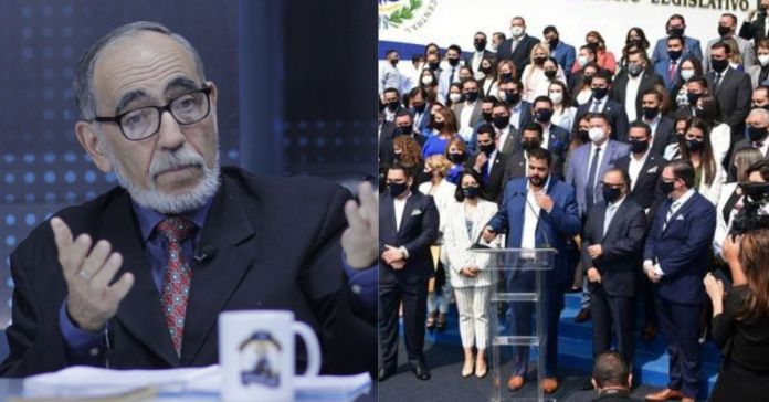 Rubén Zamora, trata de ANIMALES a los diputados de Nuevas Ideas