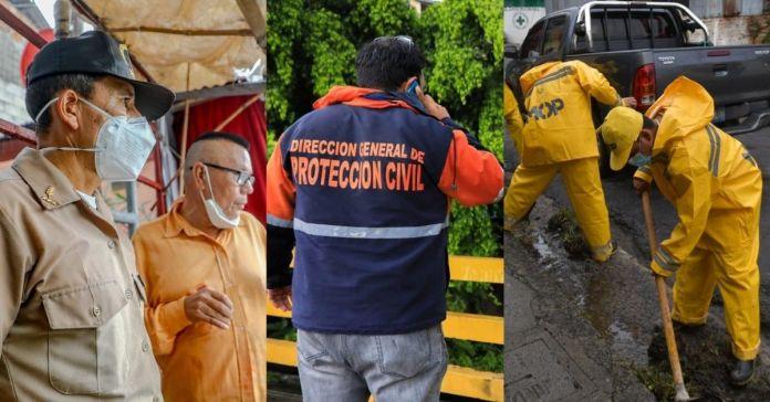 Autoridades de Gobierno trabajan de manera articulada coordinando acciones que garanticen seguridad a la población ante las recientes lluvias