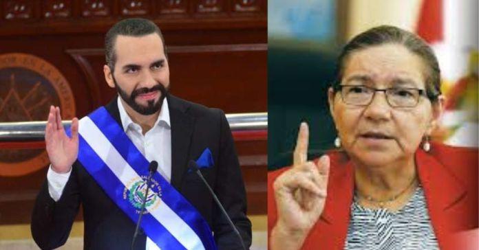 Norma Guevara exige a Bukele resolver los problemas del salario mínimo a la gente que ellos ignoraron en sus 2 gobiernos