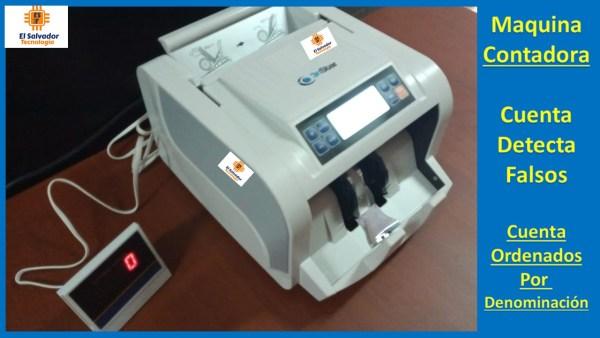 Contadora de Billetes 3nstar-El Salvador Tecnologia-6