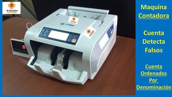 Contadora de Billetes 3nstar-El Salvador Tecnologia-2
