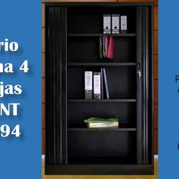 Armario Persiana 4 bandejas Cod CNT 30-1794