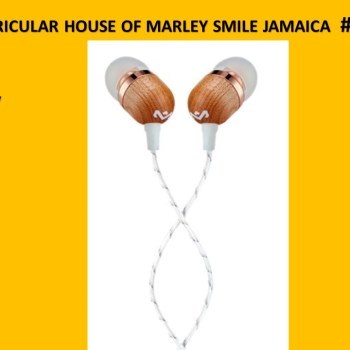 AURICULAR HOUSE OF MARLEY SMILE JAMAICA # EM-JE041-CP