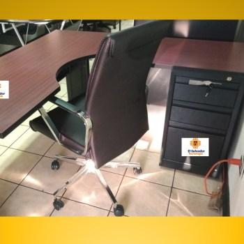 Escritorio en L Modelo Ibiza-Preston- El Salvador Tecnologia-1