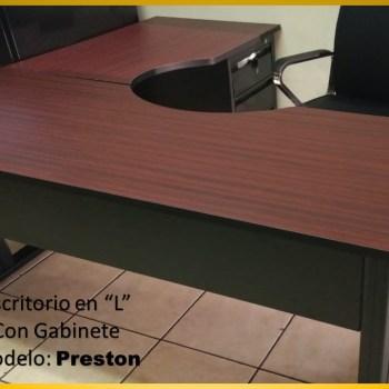 Escritorio en L Modelo Ibiza-Preston- El Salvador Tecnologia-14