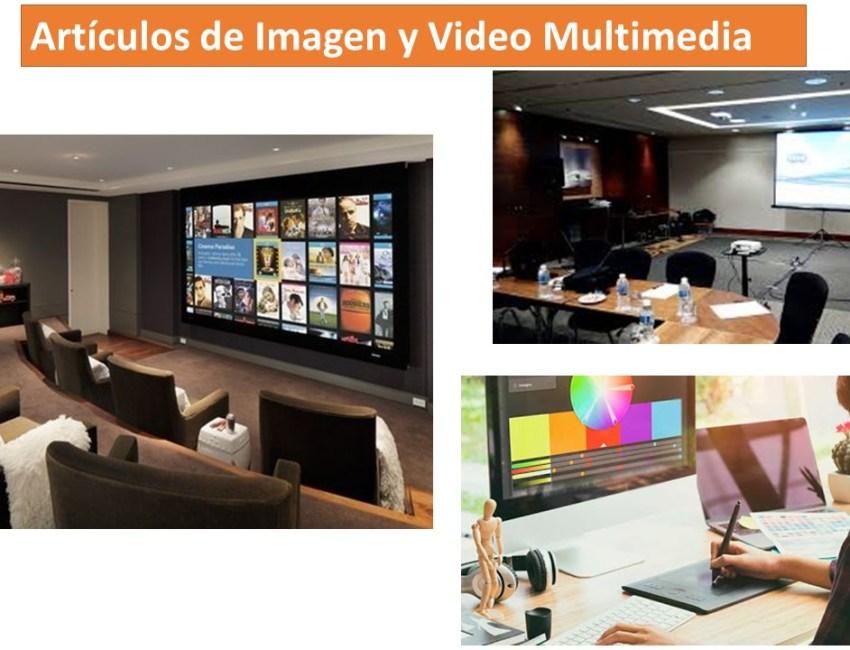 Articulos de Imagen y Video Multimedia