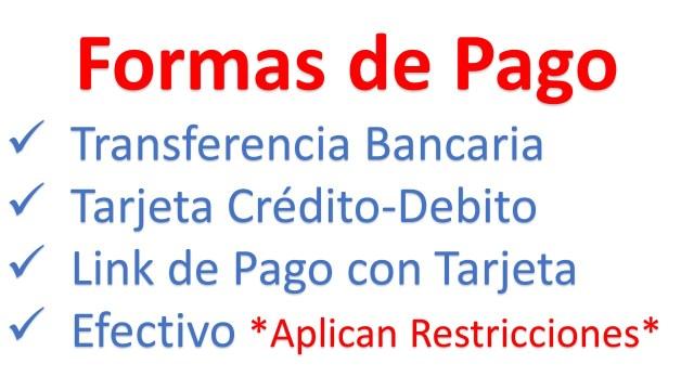 Formas de pago - El Salvador Tecnologia - Tienda en Linea