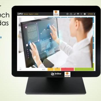Monitor Touch Tactil Marca 3nstar de 15 Pulgadas