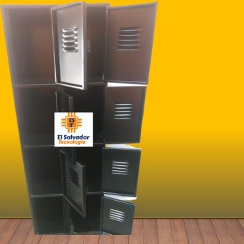 Locker de 2 cuerpos 8 Puertas