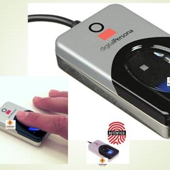 Lector de Huellas Dactilar Conexion USB