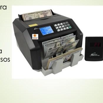 Contadora de Billetes Digital con funcion para Detectar Falsos
