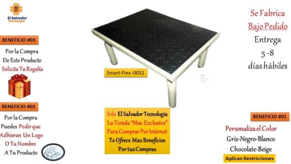 Muebles Hospitalarios Gradilla de 1 Nivel para Clinica SmartFlex 0052 El Salvador Tecnologia