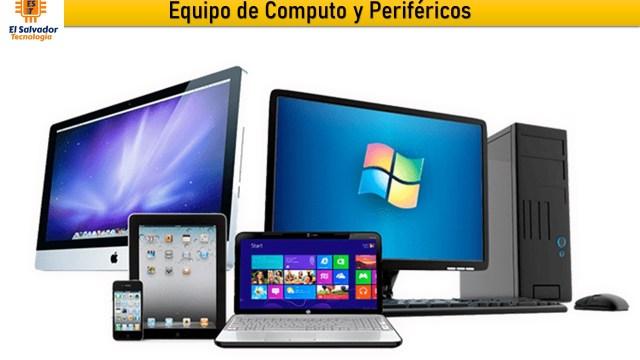 Equipo de Computo y Perifericos - El Salvador Tecnologia