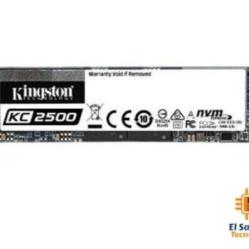Unidad de Estado Solido M.2 NVMe Kingston KC2500 - cifrado - 2TB - SKC2500M8/2000G
