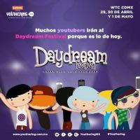 Daydream Festival México te invita este Sábado a Youthering, Gana Boletos