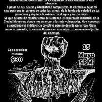 CANCELADO En solidaridad con Andy CANCELADO